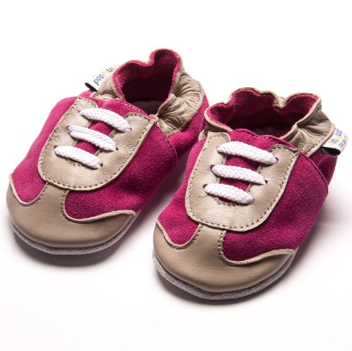 Jinwood designed by amsomo - Zapatillas de estar por casa para niña Multicolor - sporty fuchsia soft sole