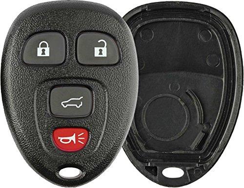 (KeylessOption Just the Case Keyless Entry Remote Key Fob Shell)