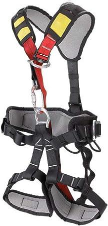 ZSDFGH Imbracatura con Diamante Nero Cintura di Sicurezza per Imbracatura da Arrampicata per Arrampicata su Roccia Discesa in Corda Doppia Arrampicata in Montagna