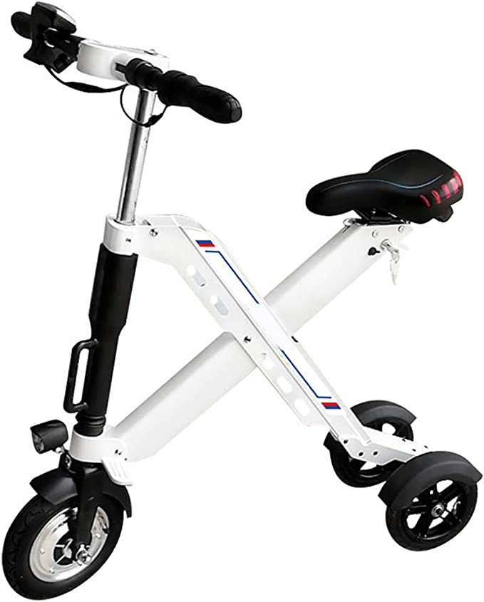 LTLSF Mini Triciclo Eléctrico Plegable para Adultos, Bicicleta ...
