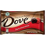 DOVE PROMISES Dark Chocolate Candy 8.87-Ounce Bag (Pack of 12)