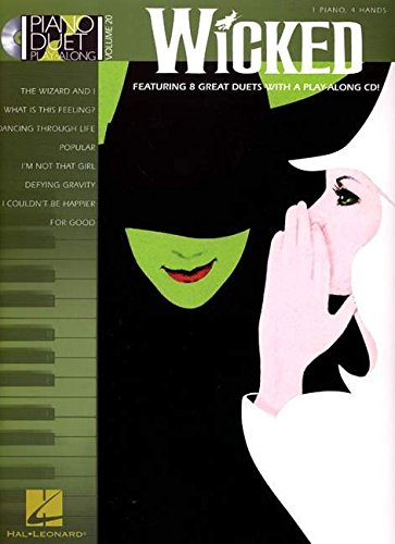 Wicked Piano Book (Wicked - Piano Duet Play-Along Vol. 20 BK/CD)