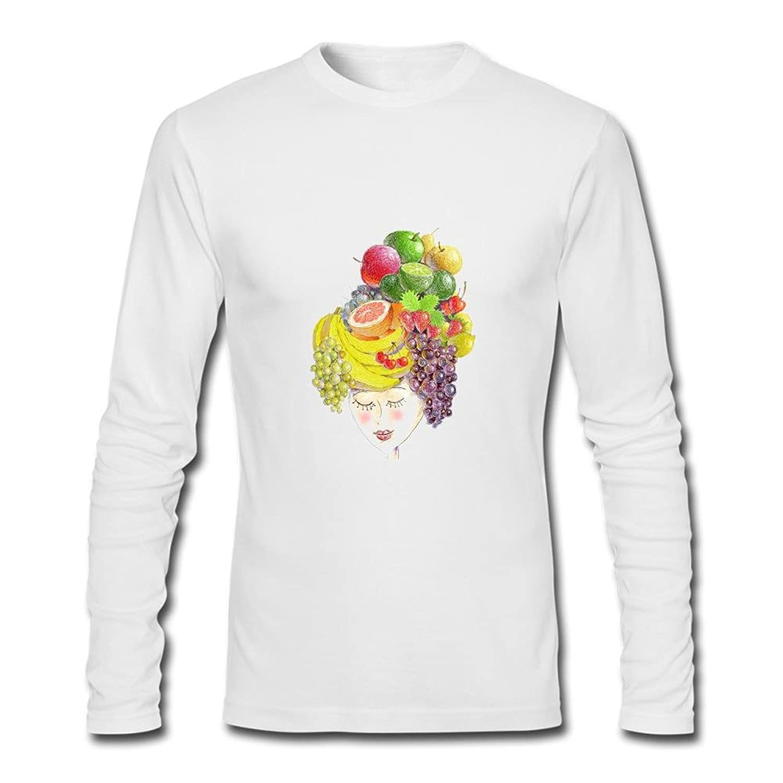 Men's FRUIT WOMAN Long Sleeve T-Shirt