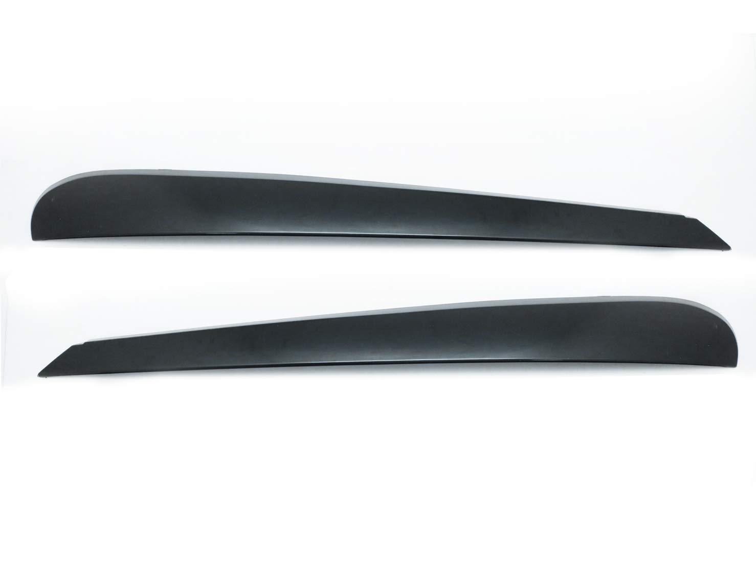 CarLab (2) nero palpebre palpebra sopracciglia faro copertura per 6 MK6 GTI