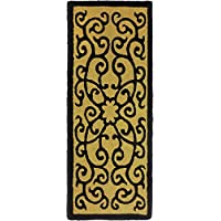 Jellybean Iron Gate Indoor/Outdoor Rug 21 X 54