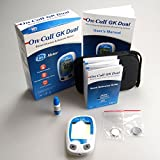 On Call GK Dual Function Meter for Blood Ketone and Glucose Monitoring Meter by On Call GK Dual
