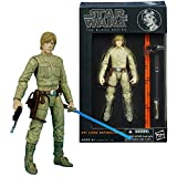 Star Wars Hasbro Year 2013 The Black Series 5 Inch Tall Action Figure Set #11 : LUKE SKYWALKER (Bespin) with Blaster and Blue Lightsaber