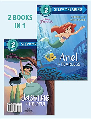 Ariel Is Fearless/Jasmine Is Helpful (Disney Princess) (Step into Reading) (Step Into Reading Little Mermaid)