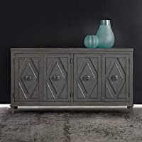 Hooker Melange Console Table in Gray