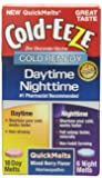 Cold-Eeze Daytime/Nighttime Quickmelt Tablets, Mixed Berry Flavor, 24 Count