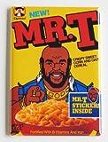 Mr. T Cereal Fridge Magnet