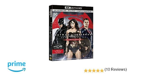 Batman V Superman - Dawn Of Justice Blu-Ray 4K Ultra HD+Blu ...