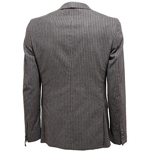 marrone 7493l Guess Men Marciano Marroni Slim Giacche Giacca Fit Righe By Uomo Grigio Jackets Ow4EOf6qr