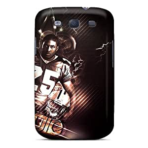 Fashionable Design New Orleans Saints Rugged Cases Covers For Galaxy S3 New