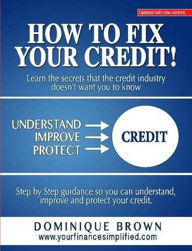 How Your Credit Dominique Brown product image