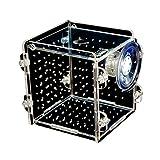 Legendog Fish Box Multifunctional Acrylic Fish Breeding Tank Small Fish Aquarium with Big Suction Cup