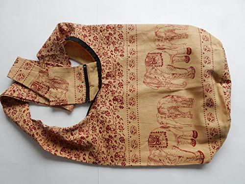 Femme Pour Rot Modèle Grand Sac Beige Ariyas Bandoulière Thaishop Iwxvqntz