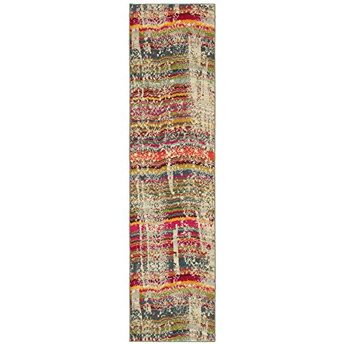 Kaleidoscope Rugs Collection (Oriental Weavers 5992F Kaleidoscope Area Rug, 2-Feet 7-Inch by 10-Feet, Multi Colored)