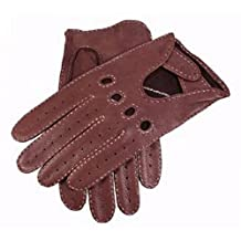 Bark Deerskin Leather Driving Gloves by Dents - 10 - 10½ - Dents