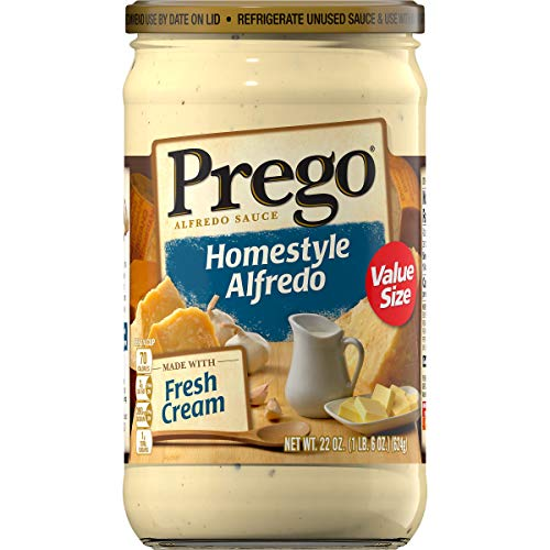 (Prego Homestyle Alfredo Sauce, 22 Ounce (Pack of 6))