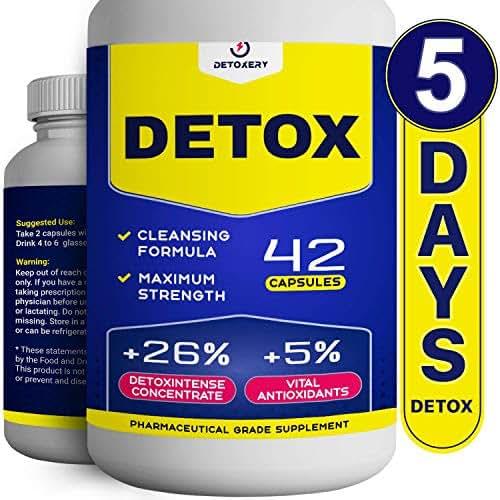 Total Herbal Cleanse - Natural Detox in 5 Days - Vegetarian Capsules