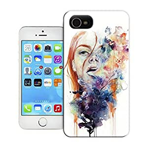 Unique Phone Case The girl creative collage art this thing called art is really dangerous Hard Cover for 5.5 inches iphone 6 plus cases-buythecase