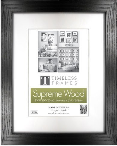 Amazon.com - Regal Black 12x12 Solid Wood Photo Memory Frame -