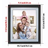 Giftgarden Black 8x10 Picture Frame Wall Decor for