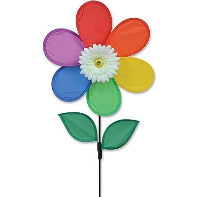 Premier Kites White Daisy Flower Spinner: Sports & Outdoors
