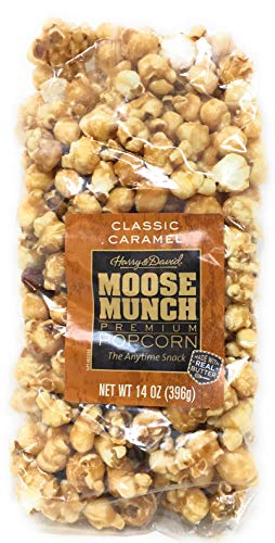 Harry & David, Moose Munch Gourmet Popcorn, Classic Caramel (14 Oz)
