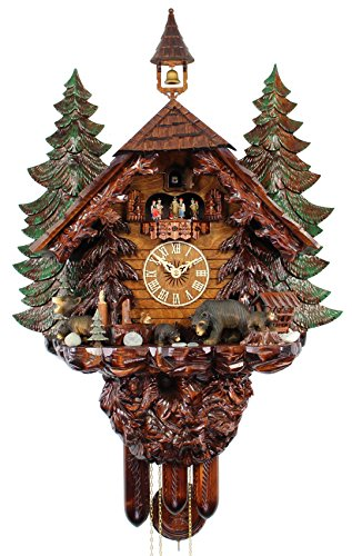 (Adolf Herr HerrZeit Cuckoo Clock - The Bear Family)