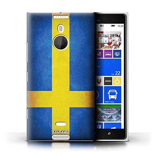 Kobalt® Imprimé Etui / Coque pour Nokia Lumia 1520 / Suède/suèdois conception / Série Drapeau