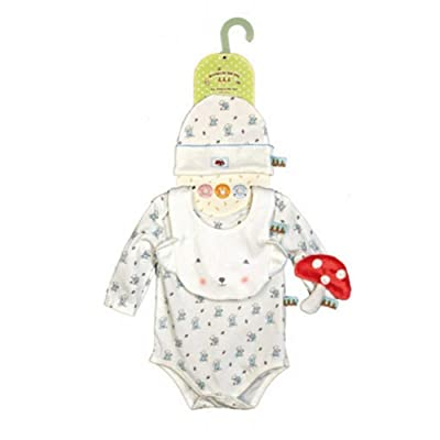 Bunnies By The Bay Bear Cuddle Me Apparel Set