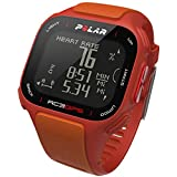 POLAR RC3 Heart Rate Monitor, Red/Orange Various Patterns