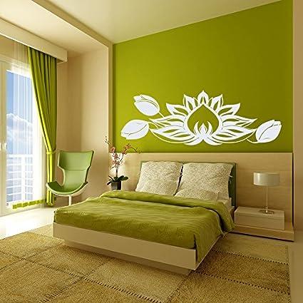 Amazon.com: Vinyl Decal Lotus Flower Bud Namaste Symbol Home Wall ...
