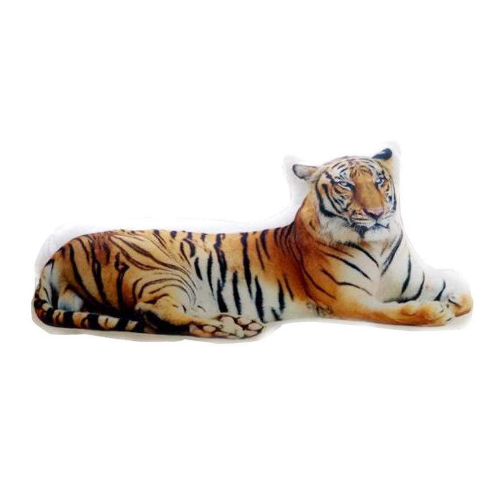 East Majik Animal Simulated Pillow Animal Shape Cushion Pillow £¨Tiger£