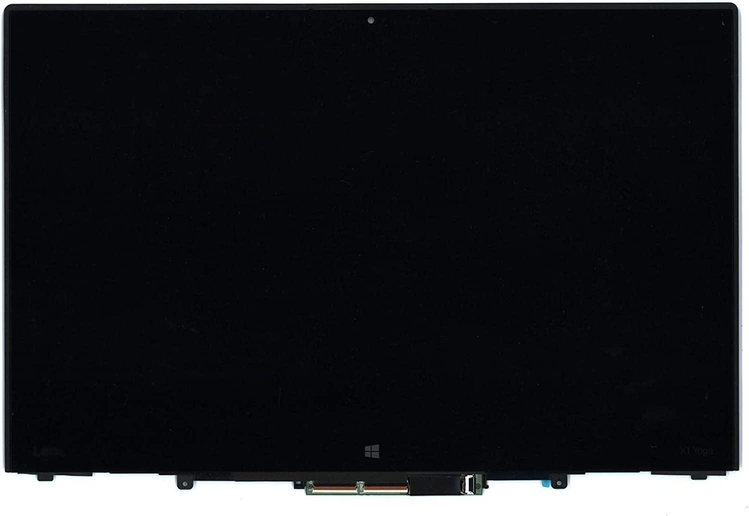 New Replacement 14 inch LCD LED Touch Screen Display with Touch Control Board and Bezel Frame Assembly for Lenovo Thinkpad X1 Yoga 1st Gen FRU:00UR191 WQHD 2560x1440