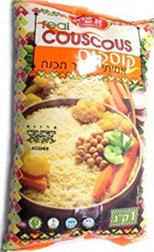 Asif Real Couscous Cholesterol Free 3.5 Oz. Pack Of 6. by ASIF