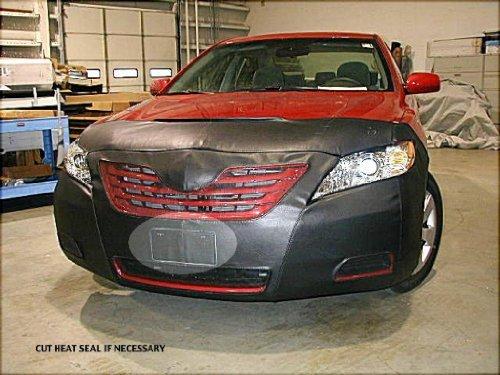 Lebra 2 piece Front End Cover Black - Car Mask Bra - Fits - Toyota Camry & Hybrid,not SE 2007-2009