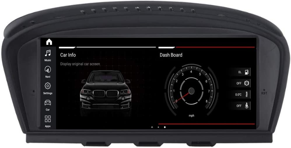 "8.8"" Android 10 Head Unit Screen for BMW 3 Series(E90/E91/E92) 5 Series(E60/E61/E62/E63 2009-2012 Year with CIC System, Radio Bluetooth WiFi GPS Navigation Multimedia System Car Stereo"