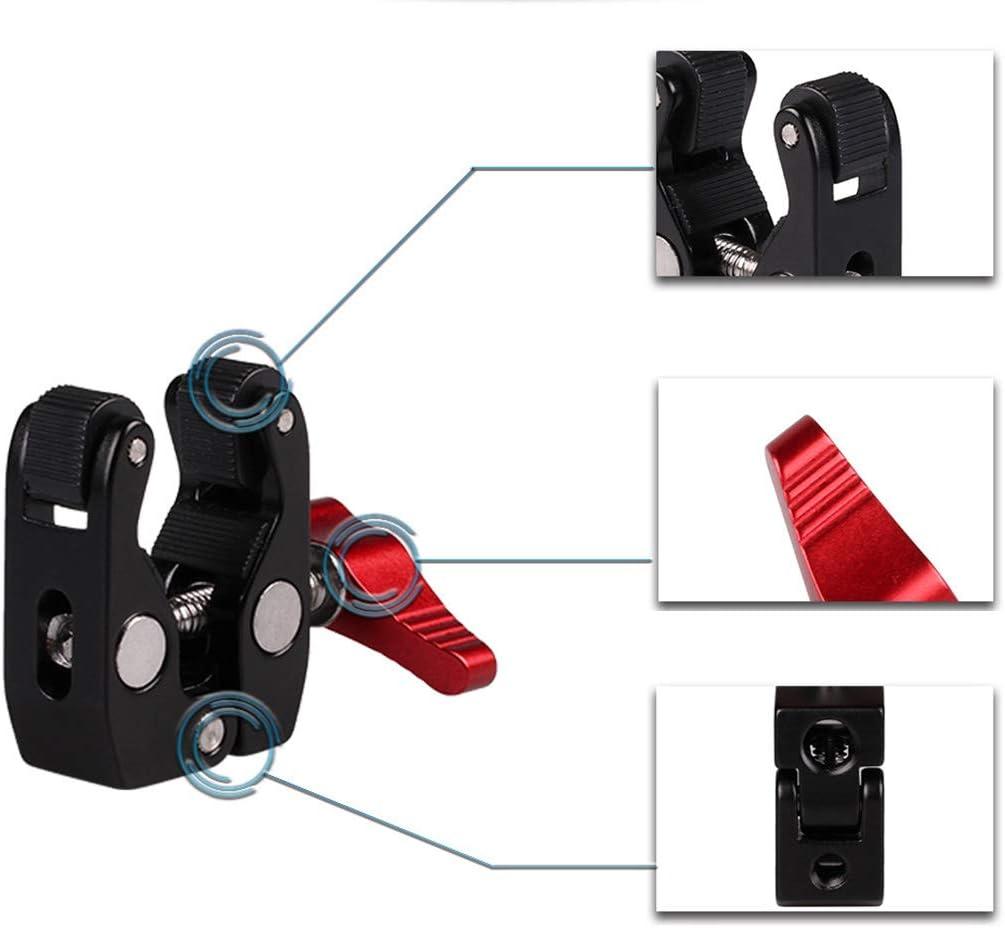 Kamera & Foto Benutzer Crab Clamp Knopf Magic Arm Klemme mit Mini ...