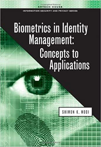 Biometrics in Identity Management: Concepts to Applications