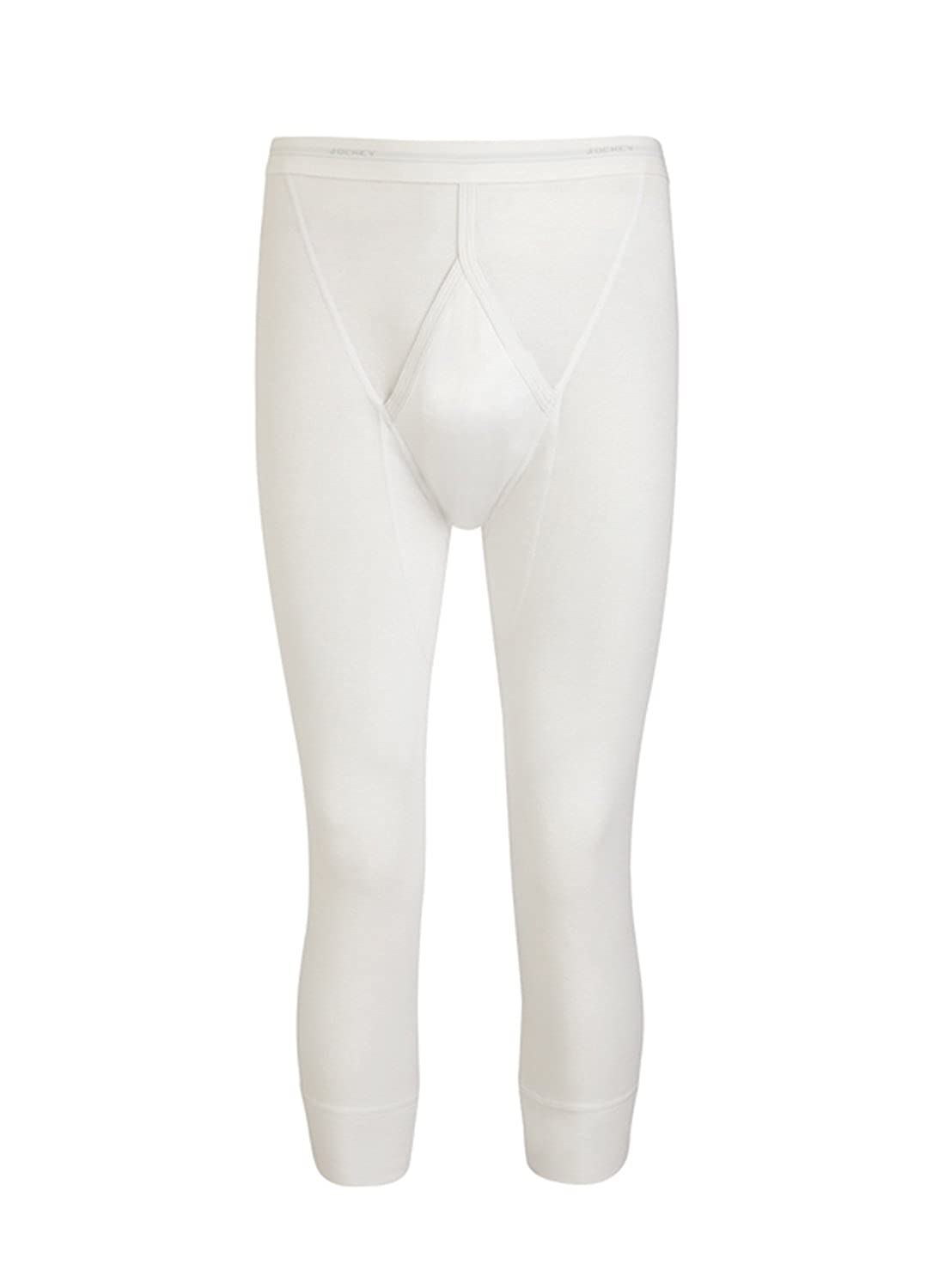 Jockey Luxury Cotton Short Long John Doppelpack - white S