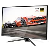 G-STORY 27 Inch IPS Ultra 4K UHD 3840X2160P 60Hz HDR Eye-Care Gaming Monitor with AMD FreeSync 5ms, HDMI Cable, Built-in Multimedia Stereo Speaker, FPS/FTS Modes, UL Certificated AC Adapter