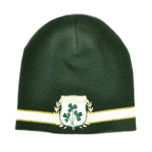 Gorro Trébol Punto Escudo Irlanda De agnEqxCwF