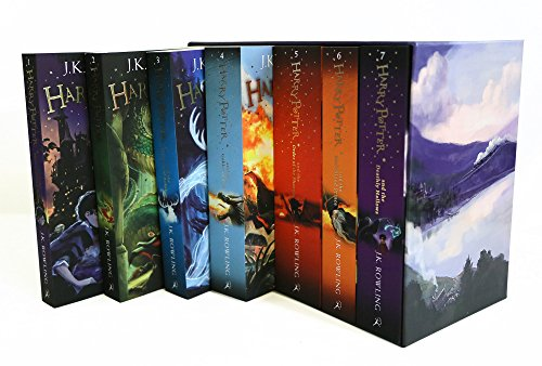 518UaanaWIL Bloomsbury children´s books are to reinvent the children´s hardback and paperback editions of the phenomenally successful harry potter series. Redesigned inside and out, all seven books will feature covers by award-winning artist Jonny Duddle.