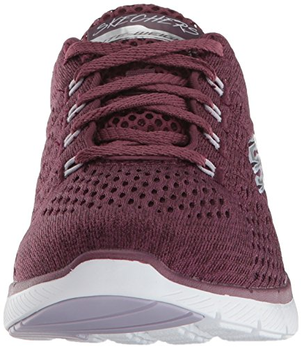 Appeal Sportive 3 Donna 0 Flex Scarpe Skechers Indoor satellites Red nBqOCxZw