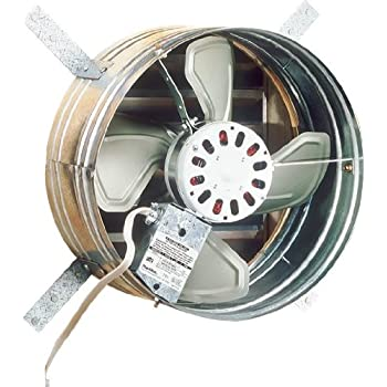 Broan 35316 Gable Mount 120 Volt Powered Attic Ventilator