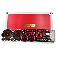 DS18 DELUXE3C Deluxe 6.5 3-Way Component Car Audio Sound Quality Speaker System