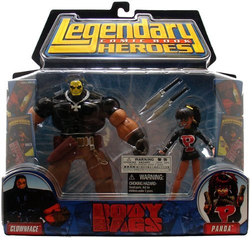 (Legendary Comic Book Heroes Series 1 Body Bags 2-Pack Action Figures)